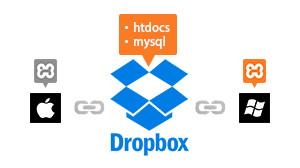 xampp-win-mac-dropbox-data-share